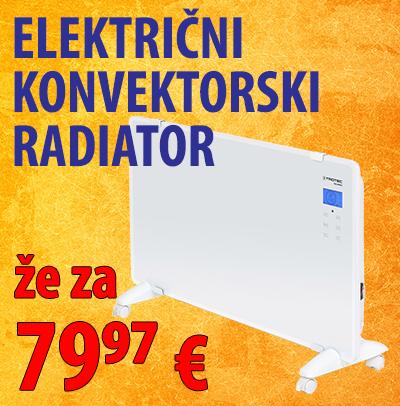 električni konvektorski radiator